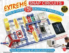 33 best snap circuits images snap circuits, maker space, circuit boardsnap circuits extreme 750 in 1 with computer interface by elenco electronics, inc