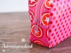 Sonstige Billiger Preis Täschchen Kosmetiktäschchen Kleine Tasche Weihnachten Sterne Lebkuchen Rot Grün Zu Verkaufen