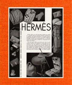 Hermès ad, 1950s