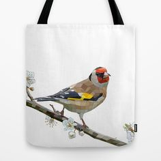 """Inspired by the painting """"The Goldfinch"""" from Carel Fabritius, i set out to create my own digital version. To honor Fabritius, 2012, and this beautifully colored bird."""