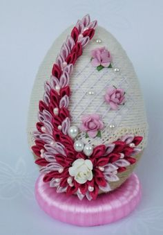1 million+ Stunning Free Images to Use Anywhere Easter Egg Crafts, Easter Projects, Easter Eggs, Flower Crafts, Diy Flowers, Easter In Poland, Fabric Ornaments, Free To Use Images, Ribbon Art