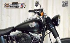2011 HARLEY DAVIDSON FLSTFB in BLACK DENIM At Auckland Motorcycles & Power Sports,  New Zealand www.amps.co.nz
