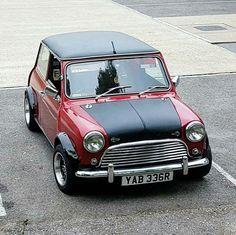 Mini Cooper S, Rover Mini Cooper, My Dream Car, Dream Cars, Classic Mini, Classic Cars, Mini Jeep, Mini Morris, Morris Minor