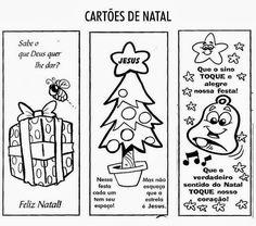 Pedagógiccos: Cartões de Natal para imprimir e pintar