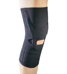 Knee brace with j
