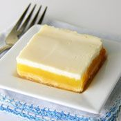 Tangy Lemon Squares, Recipe from Cooking.com