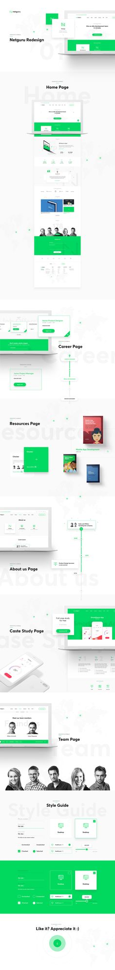Netguru Website Project  #website #webdesign #ui #ux