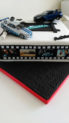 Fast and Furious inspired cake