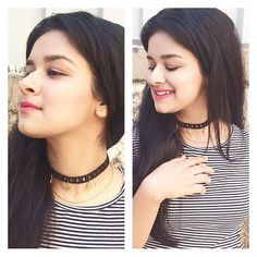 I'm so in love with @allrystudio 's black star choker..! isn't it beautiful..! Go girls get a choker for yourself from @allrystudio and rock your outfit...!❤