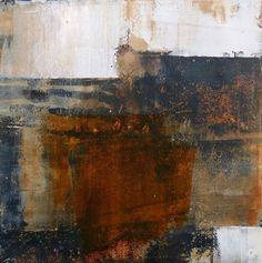 "Dun Briste #2, 12""x12"" oil on carborundum print #printmaking #carborundumprint #abstractart #worksonpaper"