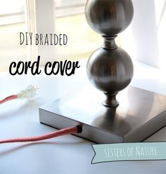 Easy DIY tech project to make all those cords less of an eyesore.