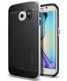 Spigen Neo Hybrid Case Samsung Galaxy S6 Edge Satin Silver