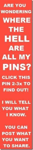 Find out why your pins might not get seen by other users.  Learn how Pinterest now works.  Share what you know.