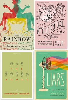 lovely illustrations at its best - Love the simple yet strong colours of these.