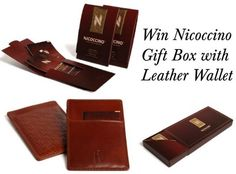 Competition to win Nicoccino Gift Box and Leather Wallet (worth £79.99)