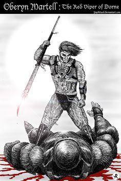 Oberyn Martell......The red viper of Dorne
