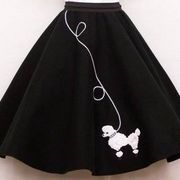 How to Make a Poodle Skirt Out of Felt | eHow