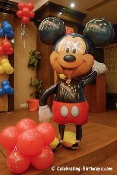 Mickey Mouse Clubhouse Theme Birthday Decoration Ideas