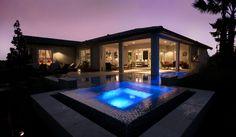 Hot Tub and Pool, Gen Y Concept Home. Eagle Creek Orlando