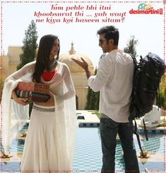 9 Blockbuster Dialogues Of Yeh Jawaani Hai Deewani That Will Remain In Our Hearts Forever! Bollywood Quotes, Bollywood Couples, Bollywood Stars, Yjhd Quotes, Filmy Quotes, Movie Dialogues, Qoutes About Love, Soundtrack To My Life, Indian Wedding Outfits