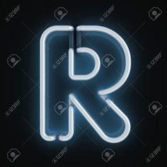 neon font - Google Search