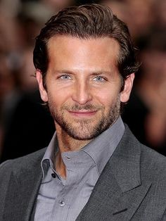 Bradley Cooper. One of the few men that looks nice/better with a beard.