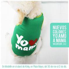 """Nuevos colores de esqueletos """"Yo amo a mamá"""". También en Medellín junto a @KinkyMascotas ."""