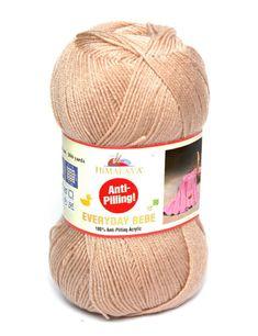 Glatte weiche Milch Cotton Natural Hand Strickwolle Garn Ball Baby Wool Craft Wei/ß