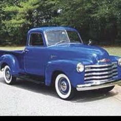 When I was 16 my first car was 53 Chevy truck like this. It only cost $400 and little bit of love. Metalic blue, chrome moon rims, floor starter and a bed that would fill up with all my friends for a cruise on King and Story!