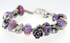 Aurora Beads & Flowers of the Month..... ok   I love this
