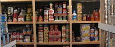Canned emergency food storage by The Survival Woman, awesome easy to understand food storage tips! Emergency Food Storage, Emergency Food Supply, Emergency Preparation, Emergency Kits, Emergency Supplies, Emergency Planning, Food Preparation, Emergency Shelters, Prepper Supplies