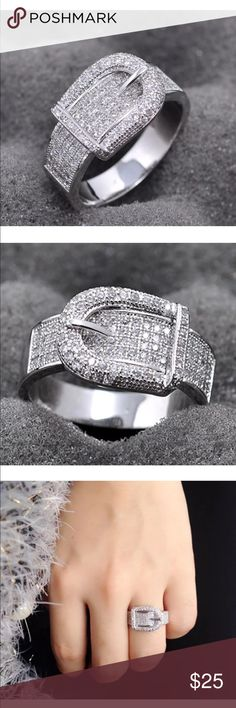 Buckle Ring so pretty!.. looks even better in person!.. brand new Jewelry Rings