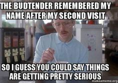 Come visit your lovely budtenders at Chula Vista Meds🌞 We will try our hardest remember your name😂  #budtender #funny #meme #cannabis #420 #ganja #weed #instaweed #cannabiscommunity #chula #vista #stonernation #potent #wake #bake #girlswhosmokeweed #highsociety #highlife #potent #takeahit #mood #earlybird #earlymornings #keeponerolled #smokeone #blazeit #indica #collective#budtender #rollone #blunts #prop215