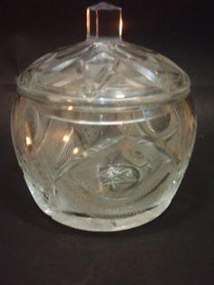 Bombonera de cristal 12 x 6 cm
