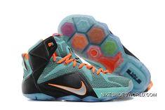 00e7aea36c3 Nike LeBron 12 Teal Orange-Black Copuon Code