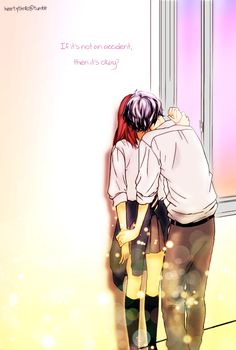Kou x Futaba kiss by KSKAR on deviantART