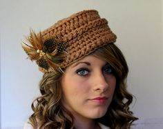 Ravelry: Vintage Inspired Pillbox Hat pattern by Kris Moore