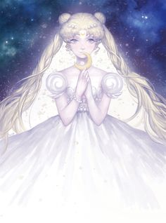 princess serenity by batteryli on DeviantArt