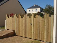 portails et portillons aluminium, clôtures bois, brande. portails et portillons aluminium, clôtures bois, brande.