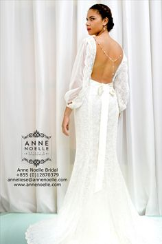 """""""Anne Noelle Bridal"""" is one of Fairsew's loyal customers. Visit their website to see many beautiful ethical wedding dresses made in Cambodia. annenoelle.com"""