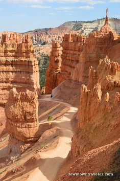 Bryce Canyon National Park Hoodoo Hike 23 - Holistic Tri Life//Living A Meanigful Active Life - National Parks Map, Capitol Reef National Park, Zion National Park, National Forest, Arches Nationalpark, Yellowstone Nationalpark, Best Places To Camp, Places To Travel, Places To Visit