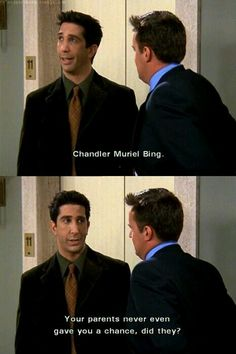 Chandler M. Bing