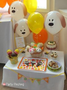 Party Planning - Party Ideas - Cute Food - Holiday Ideas -Tablescapes - Special Occasions And Events - Party Pinching - Peanut Butter Pupcake