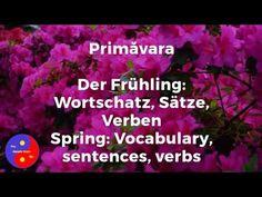 Primăvara / Romanian spring vocabulary / Frühling Wortschatz Rumänisch Vocabulary, Spring, Youtube, Youtubers, Vocabulary Words, Youtube Movies