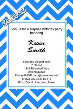 Beach Shells Birthday Invitations Digital Download Get These - Birthday invitation software free download