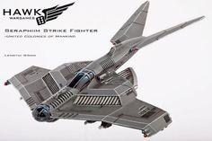 Dropzone Commander United Colonies of Mankind: Seraphim Strike Fighter (1)