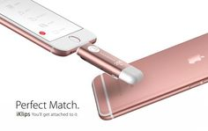 Recently, after Apple announced the rose gold iPhone 6s & 6s Plus last Wednesday, we received a lot of feedback from you, asking about our rose gold #iKlips, Apple flash drive USB.