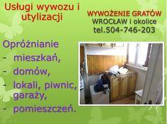 Opróżnianie, likwidacja mieszkań, tel 504-746-203, Wrocław. Opróżnianie starej piwnicy, likwidacja pomieszczenia, opróżnianie domu z mebli, wywóz, utylizacja opróżnianie, wywóz wersalek, starego narożnika, sprzątanie domu z mebli, wyposażenia, Wywóz starych mebli Wrocław, Opróżnianie mieszkań, wywożenie rzeczy we Wrocławiu. Sprzątanie piwnic, wywożenie zbędnych rzeczy z pomieszczeń.