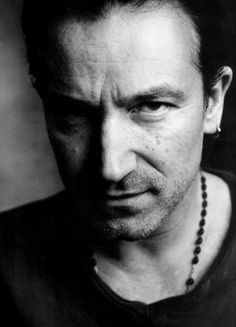Bono. I know, I know but I would be lying to myself & everyone if I didn't include him