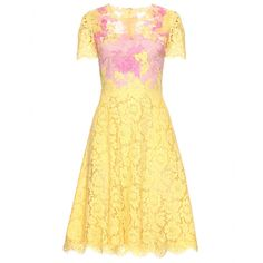 LACE DRESS WITH SHEER INSERTS seen @ www.mytheresa.com   Perfect Easter dress!